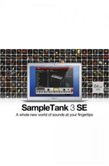 IK MULTIMEDIA SAMPLE TANK 3 SE SOUND&GROOVE WORKSTATION 6,5GB