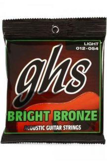 GHS BRIGHT BRONZE CORDIERA CHITARRA ACUSTICA 012 54