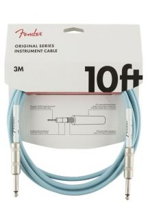 FENDER CAVO ORIGINAL SERIES INSTRUMENT CABLES 3M DAPHNE BLUE