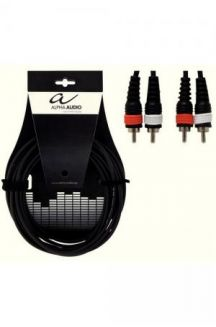 ALPHA AUDIO CAVO DUE RCA DUE RCA 3 METRI