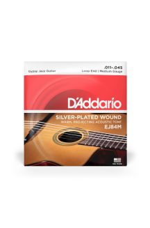 D'ADDARIO EJ84M GYPSY JAZZ LOOP END