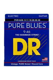 DR PHR-09 PURE BLUES CORDIERA PER CHITARRA ELETTRICA 0.09/0.46
