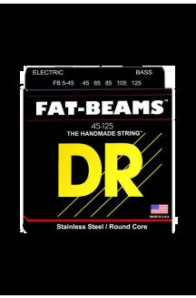 DR FB5-45 FAT-BEAM CORDIERA PER BASSO ELETTRICO 5 CORDE 0.45/125