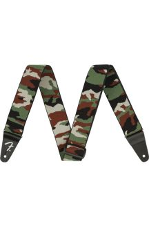 """FENDER WEIGHLESS 2"""" CAMO STRAP TRACOLLA MIMETICA"""