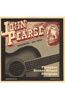 JOHN PEARSE 650L PHOSPHOR BRONZE CORDIERA PER CHITARRA ACUSTICA 0.12 0.56