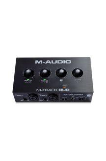M-AUDIO M-TRACK DUO INTERFACCIA AUDIO CON MONITORAGGIO DIRETTO E CONNESSIONE CUFFIE