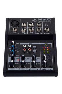 MACKIE MIX5 MIXER 5 INPUT