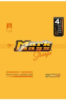 MARKBASS ENERGY SERIES ELECTRIC BASS STAINLESS STEEL 035 055 080 100