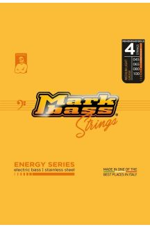 MARKBASS ENERGY SERIES ELECTRIC BASS STAINLESS STEEL 045 065 080 100