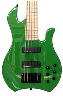 MARKBASS KIMANDU SERIES MB KIMANDU GREEN 5 BK MAPLE RICHARD BONA SIGNATURE