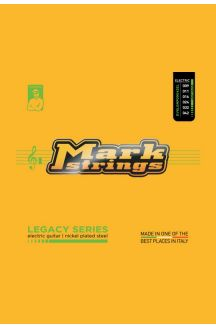 MARK STRINGS CORDIERA PER CHITARRA ELETTRICA LEGACY SERIES NICKEL PLATED STEEL 009 011 016p 024 032 042