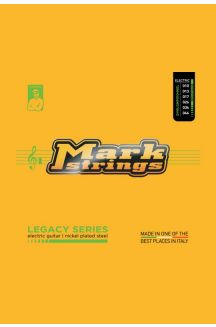 MARK STRINGS CORDIERA PER CHITARRA ELETTRICA LEGACY SERIES NICKEL PLATED STEEL 010 013 017p 026 036 046