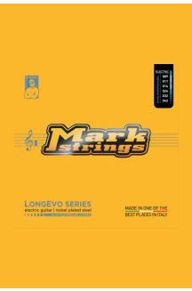 MARK STRINGS CORDIERA PER CHITARRA ELETTRICA LONGEVO SERIES NICKEL PLATED STEEL NANOFILM SHIELDED 009 011 016p 024 032 042