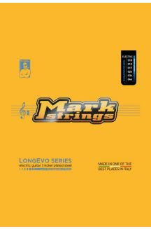 MARK STRINGS CORDIERA PER CHITARRA ELETTRICA LONGEVO SERIES NICKEL PLATED STEEL NANOFILM SHIELDED 010 013 017p 026 036 046