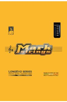 MARK STRINGS CORDIERA PER CHITARRA ELETTRICA LONGEVO SERIES STAINLESS STEEL NANOFILM SHIELDED 010 013 017p 026 036 046