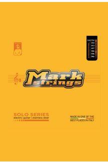 MARK STRINGS CORDIERA PER CHITARRA ELETTRICA SOLO SERIES STAINLESS STEEL 010 013 017p 026 036 046