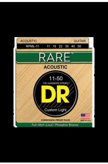 DR RPML-11 RARE CORDIERA PER CHITARRA ACUSTICA 0.11/0.50