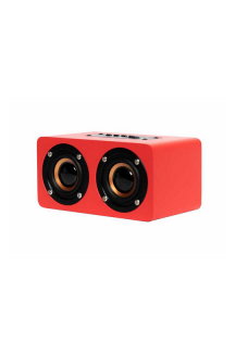 OQAN QBT-100 SPEAKER MULTIMEDIA BLUETOOTH RED