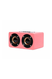 OQAN QBT-100 SPEAKER MULTIMEDIA BLUETOOTH PINK