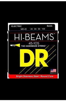 DR MR-45 HI-BEAM CORDIERA PER BASSO ELETTRICO CORDE 0.45/105