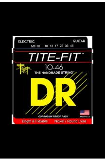 DR LT-10 TITE FIT CORDIERA PER CHITARRA ELETTRICA 0.10/0.46