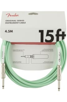 FENDER CAVO ORIGINAL SERIES INSTRUMENT CABLES 4,5M SURF GREEN