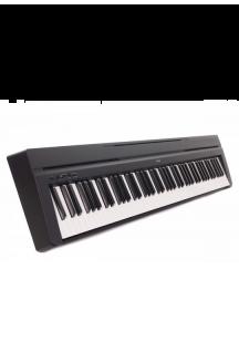 YAMAHA P45 PIANOFORTE DIGITALE 88 TASTI PESATI NERO
