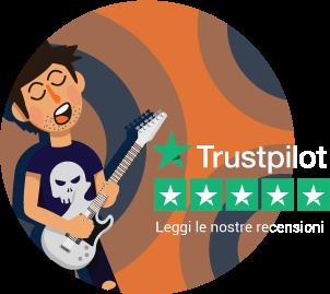 Recensioni Trustpilot Acustica
